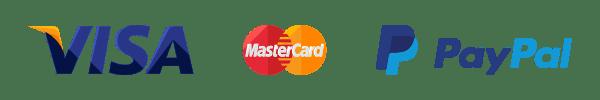 Przyjmujemy VISA, MasterCard, Paypal